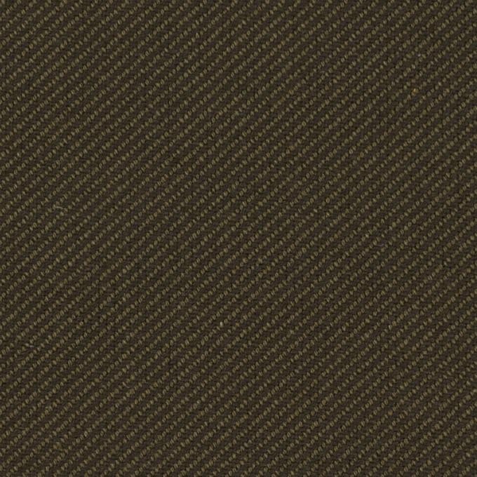 コットン×無地(カーキグリーン&カーキブラウン)×厚サージ イメージ1