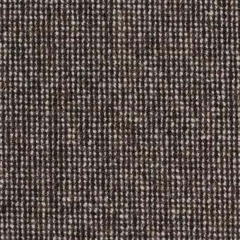 ウール&ナイロン混×ミックス(ブラウン)×ツイードストレッチ_全2色