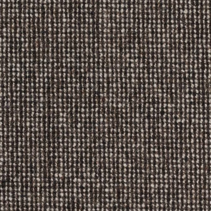 ウール&ナイロン混×ミックス(ブラウン)×ツイードストレッチ_全2色 イメージ1