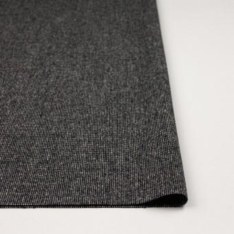 ウール&ナイロン混×ミックス(ブラック)×ツイードストレッチ_全2色 サムネイル3