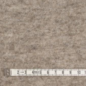ウール&アクリル混×無地(オートミール)×天竺ニット サムネイル4