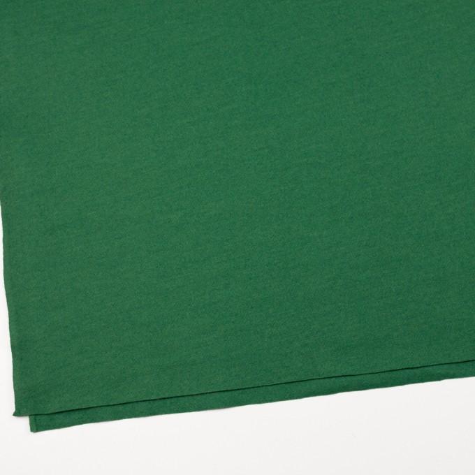 ウール&ナイロン×無地(グリーン)×圧縮ニット イメージ2
