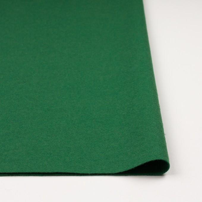 ウール&ナイロン×無地(グリーン)×圧縮ニット イメージ3