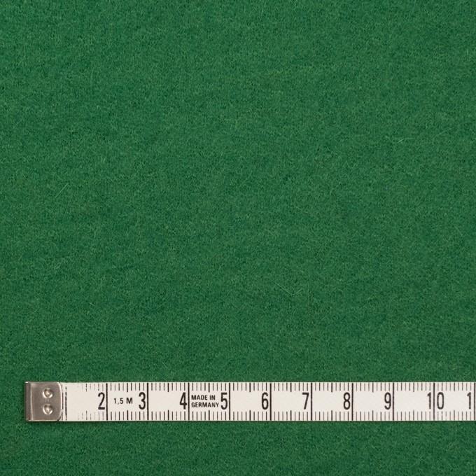 ウール&ナイロン×無地(グリーン)×圧縮ニット イメージ4