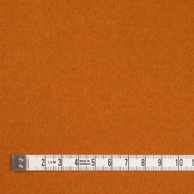 ウール&ナイロン混×無地(バレンシアオレンジ)×ビーバー_全3色 イメージ4