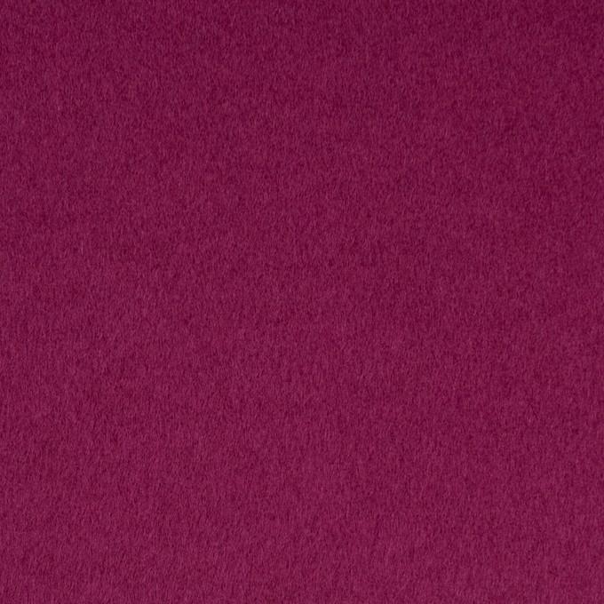 ウール&ナイロン混×無地(チリアンパープル)×ビーバー_全3色 イメージ1