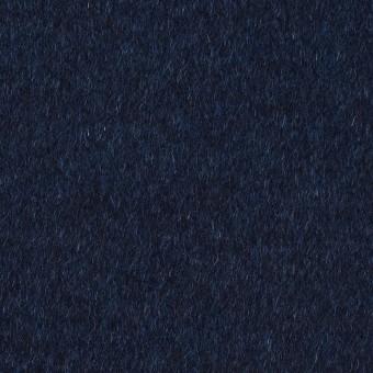 ウール&ナイロン混×無地(ミッドナイトブルー)×ビーバー サムネイル1