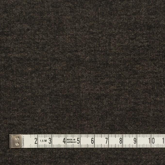 ポリエステル&レーヨン混×無地(アッシュブラウン)×かわり織 イメージ4