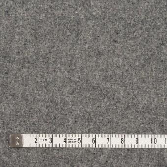 ウール&ナイロン×無地(グレー)×メルトン サムネイル4