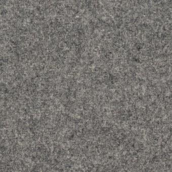 ウール&ナイロン×無地(グレー)×メルトン