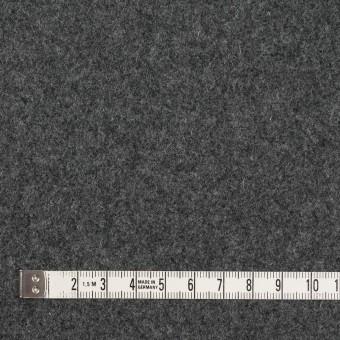 ウール&ナイロン×無地(チャコールグレー)×フラノ(フランネル) サムネイル4