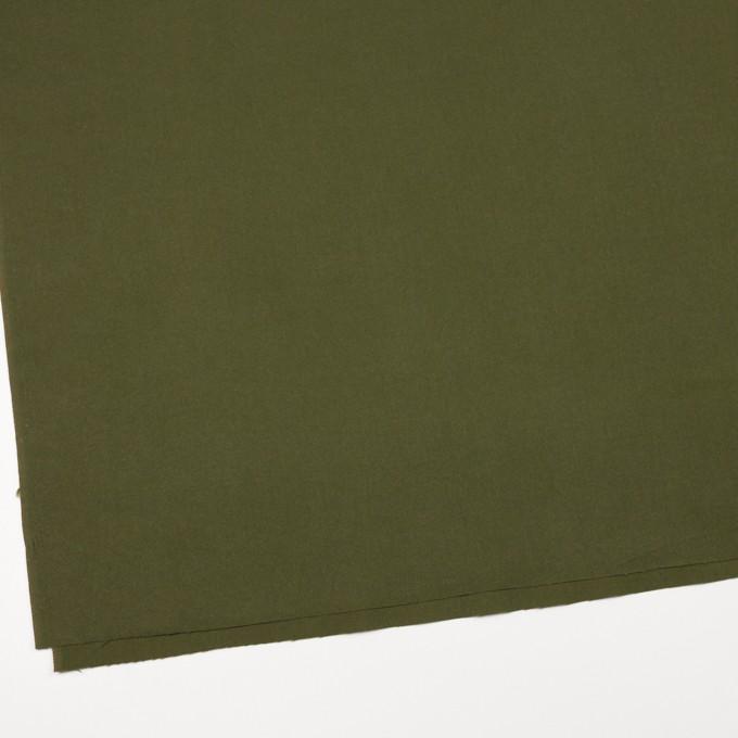コットン×無地(カーキグリーン)×フランネル_全6色 イメージ2
