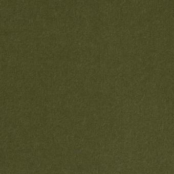 コットン×無地(カーキグリーン)×フランネル_全6色