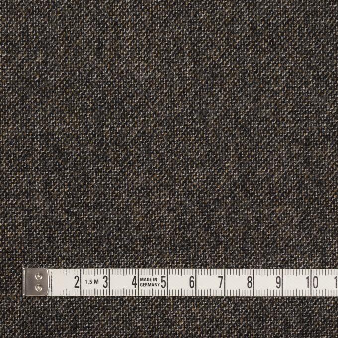 ウール×ミックス(オフホワイト、キャラメル&ブラック)×ツイード イメージ4