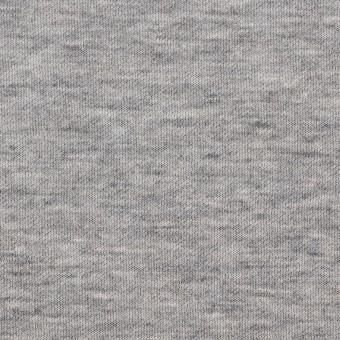 コットン×無地(杢グレー)×W天竺ニット サムネイル1