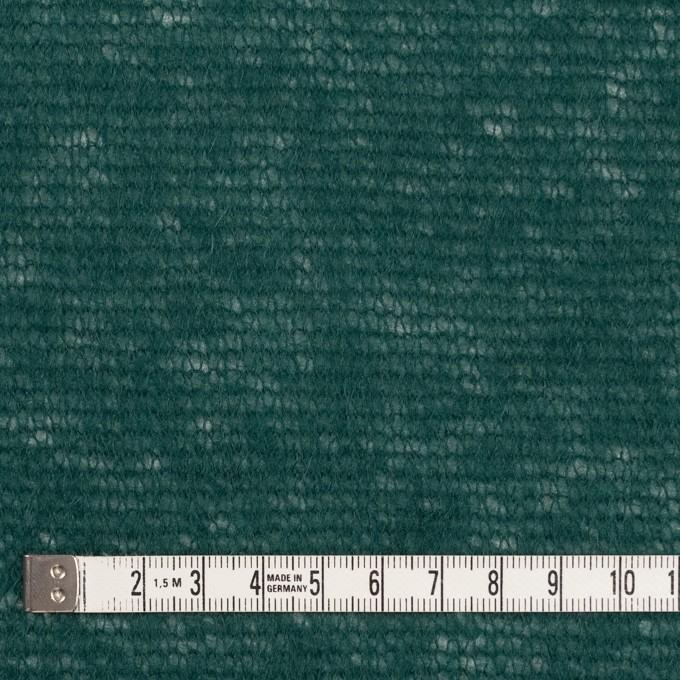 アクリル&ウール×無地(モスグリーン)×メッシュニット イメージ4