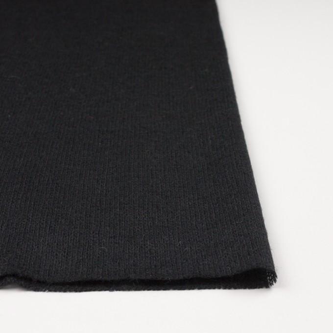 アクリル&ウール×無地(ブラック)×メッシュニット イメージ3