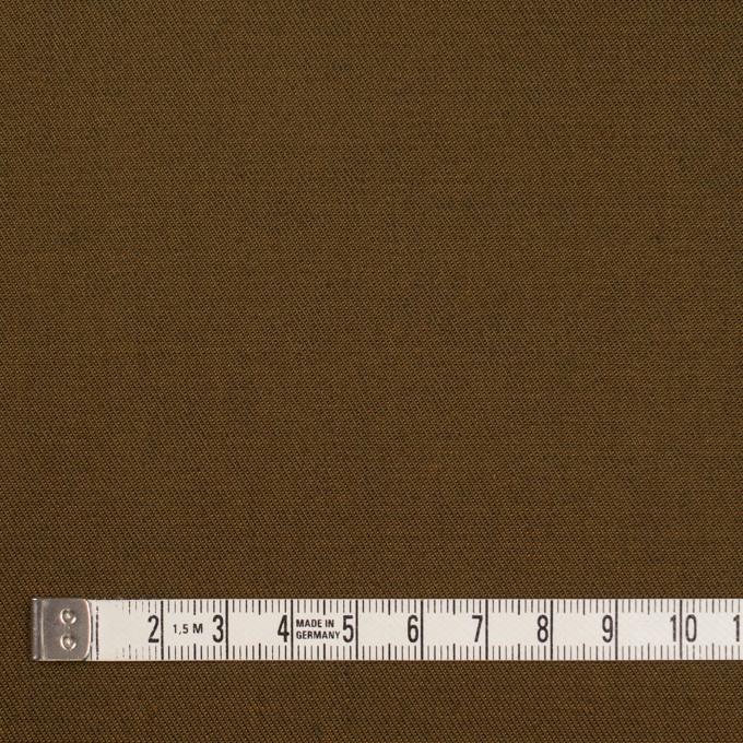 コットン&ポリエステル×無地(カーキグリーン&アプリコット)×シャンブレーチノクロス_全5色 イメージ4
