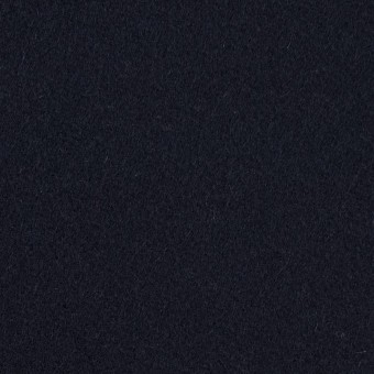ウール×無地(ダークネイビー)×フラノ(フランネル)