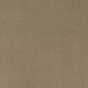 コットン&ポリウレタン×無地(グレイッシュカーキ)×細コーデュロイ・ストレッチ
