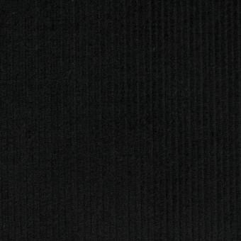 コットン×無地(ブラック)×中細コーデュロイ