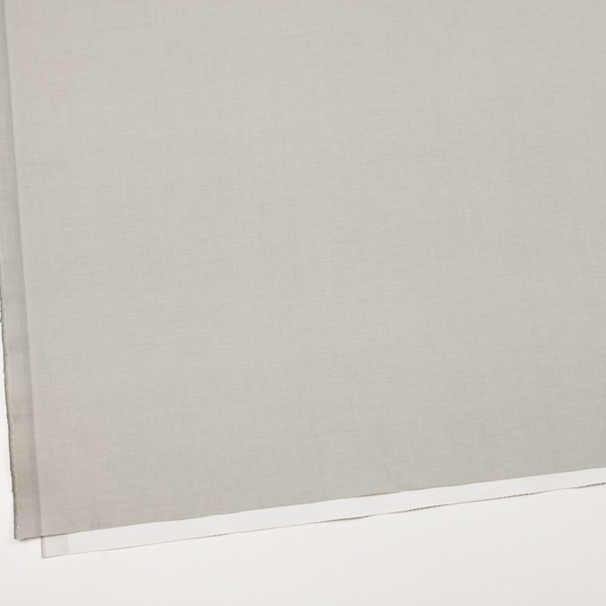 コットン&ポリウレタン×無地(ライトグレー&オフホワイト)×ブロードストレッチ(ボンディング)_全4色 イメージ2