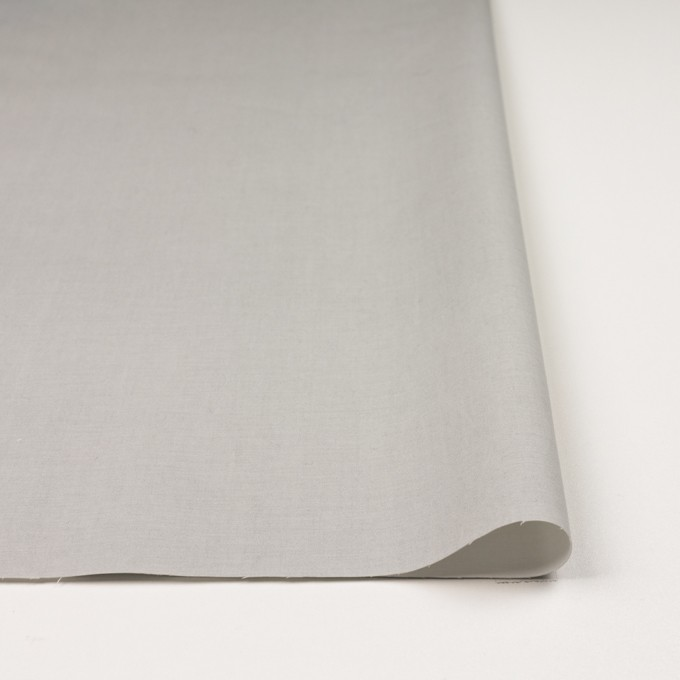 コットン&ポリウレタン×無地(ライトグレー&オフホワイト)×ブロードストレッチ(ボンディング)_全4色 イメージ3