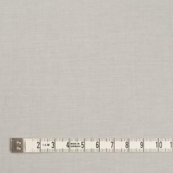 コットン&ポリウレタン×無地(ライトグレー&オフホワイト)×ブロードストレッチ(ボンディング)_全4色 サムネイル4