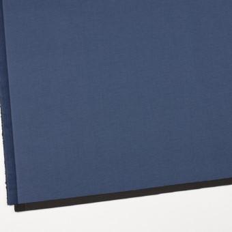 コットン&ポリウレタン×無地(アイアンブルー&チャコール)×ブロードストレッチ(ボンディング)_全4色 サムネイル2