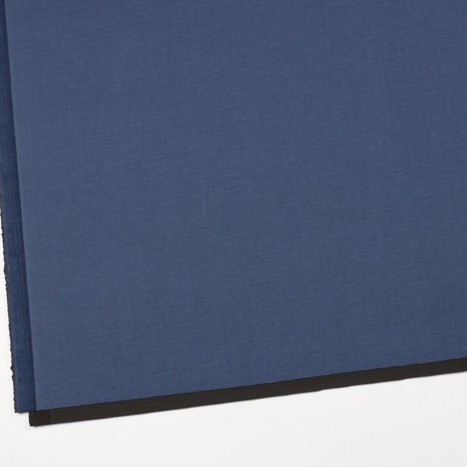 コットン&ポリウレタン×無地(アイアンブルー&チャコール)×ブロードストレッチ(ボンディング)_全4色 イメージ2