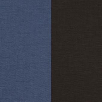 コットン&ポリウレタン×無地(アイアンブルー&チャコール)×ブロードストレッチ(ボンディング)_全4色