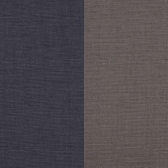 コットン&ポリウレタン×無地(アイアンネイビー&グレー)×ブロードストレッチ(ボンディング)_全4色