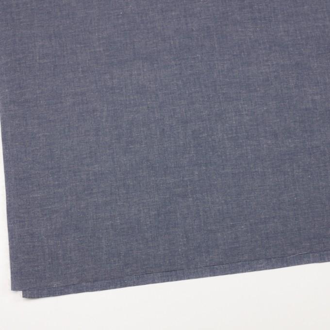 コットン&テンセル混×無地(ネイビー)×薄ダンガリー_全4色 イメージ2