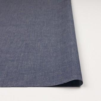 コットン&テンセル混×無地(ネイビー)×薄ダンガリー_全4色 サムネイル3