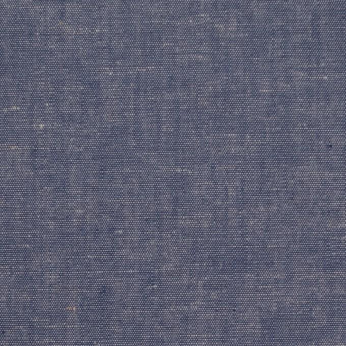 コットン&テンセル混×無地(ネイビー)×薄ダンガリー_全4色 イメージ1
