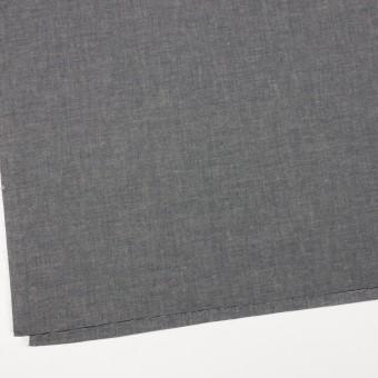 コットン&テンセル混×無地(チャコール)×薄ダンガリー_全4色 サムネイル2