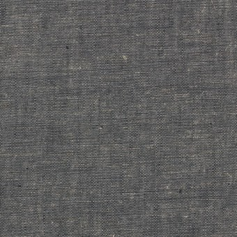コットン&テンセル混×無地(チャコール)×薄ダンガリー_全4色 サムネイル1