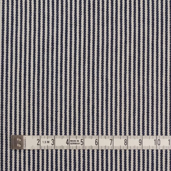コットン×ストライプ(インディゴ&キナリ)×デニムヒッコリー イメージ4