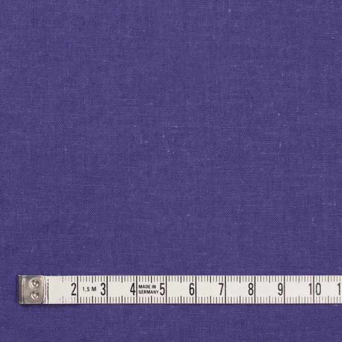 リネン&コットン×無地(ウルトラマリン)×シーチング_全36色 イメージ4