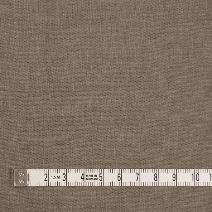 リネン&コットン×無地(ライトカーキ)×シーチング_全36色 イメージ4