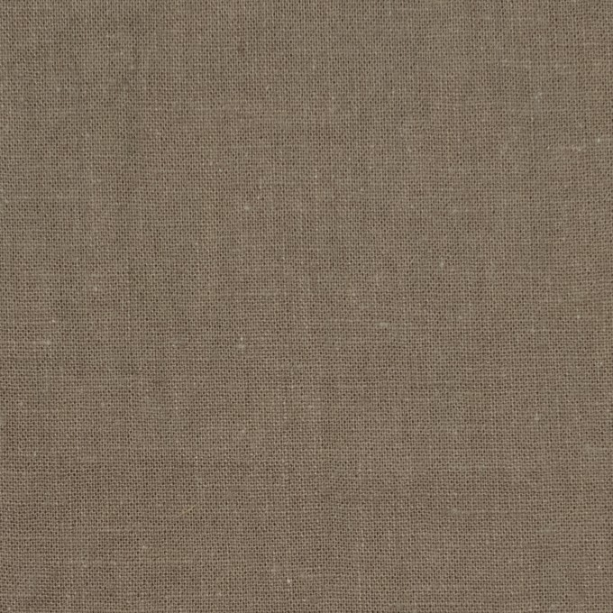リネン&コットン×無地(ライトカーキ)×シーチング_全36色 イメージ1