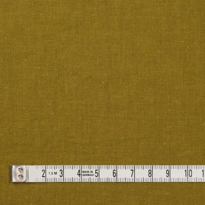 リネン&コットン×無地(ローアンバー)×シーチング_全36色 イメージ4
