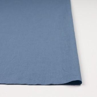 リネン&コットン×無地(ピジョンブルー)×シーチング_全36色 サムネイル3