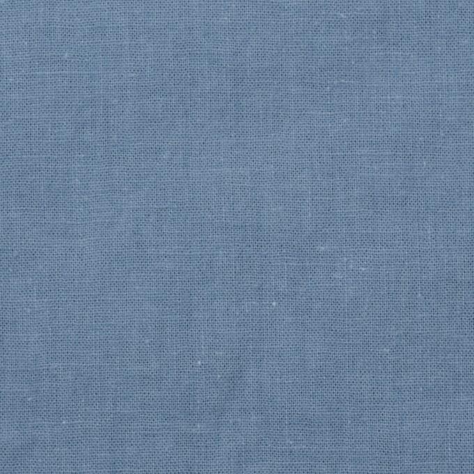 リネン&コットン×無地(ピジョンブルー)×シーチング_全36色 イメージ1
