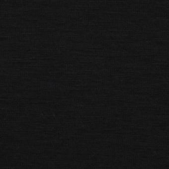 コットン&モダール×無地(ブラック)×スムースニット