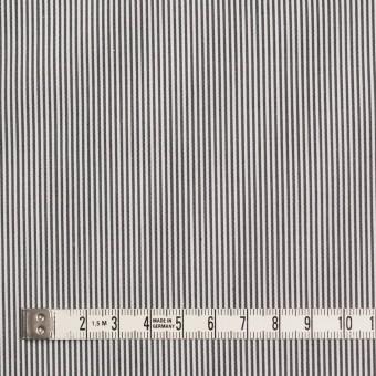 コットン×ストライプ(チャコール)×ローン サムネイル4