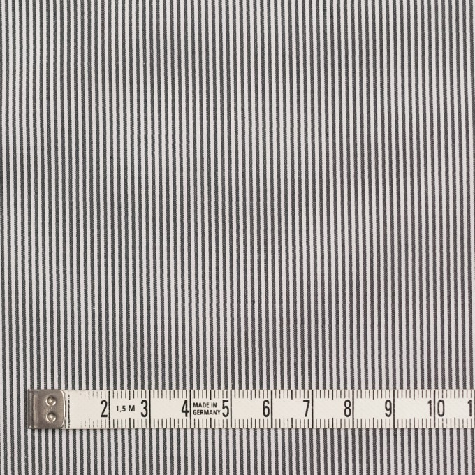 コットン×ストライプ(チャコール)×ローン イメージ4