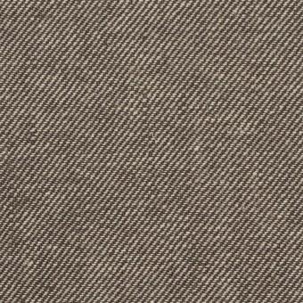 リネン&コットン×無地(ブラウン)×サージ_全2色