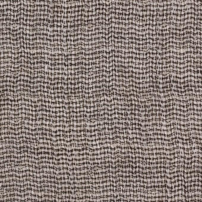 コットン×無地(ブラウン)×ガーゼ&ジャガード_全3色 イメージ1