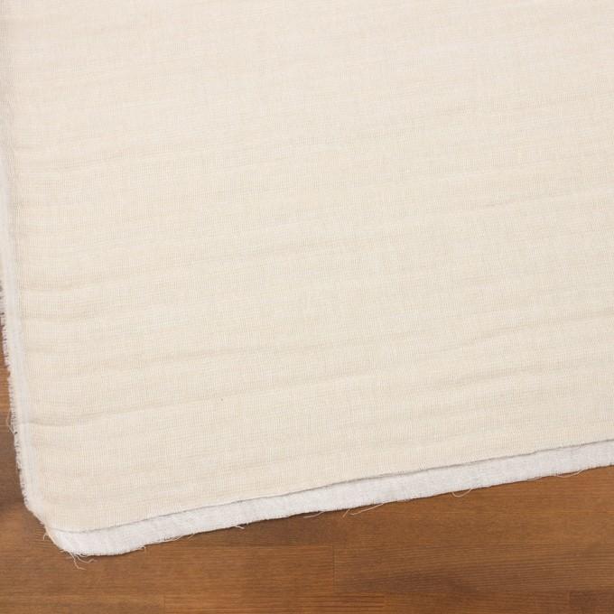 コットン×無地(キナリ)×ガーゼ&ジャガード_全3色 イメージ2